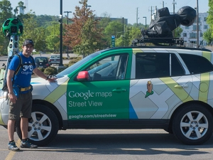 UAB welcomes Google Trekker to campus
