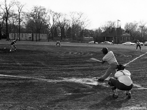 Local parks played host to UAB's early intramural sports