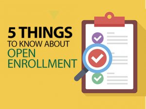 5 things to know about open enrollment