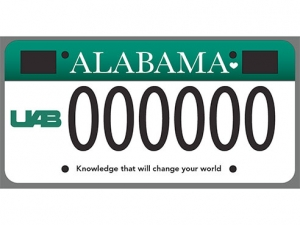 New license plate proclaims the UAB brand