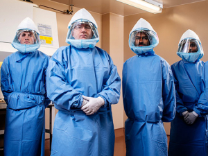 Meet the scientists who volunteered to face the coronavirus up close