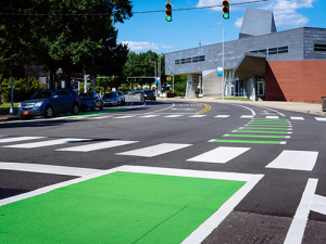 10th Avenue 'road diet' makes Blazers safer, campus greener