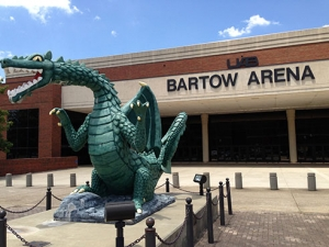 Blaze at Bartow Arena succumbs to elements, heads for vacation