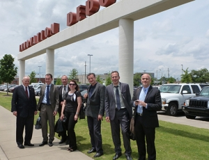 Czech science and technology delegation visits UAB