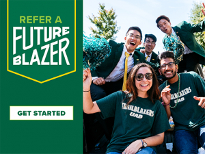Refer a future Blazer from your network of family and friends