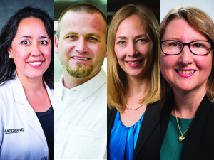 4 honored with Provost's Award for Faculty Excellence