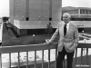 Volker Hall's namesake was a man of firsts