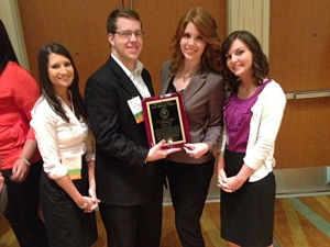 Business honors organization earns national recognition
