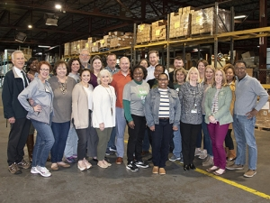 Medicine channeled the spirit of the season packing holiday meals