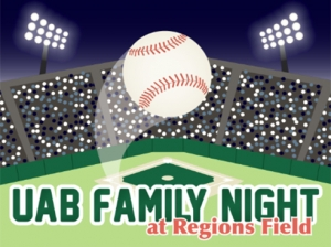 UAB Family Night with the Barons is July 10