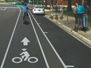 Watch for cyclists: Bike lanes added to 10th Avenue South