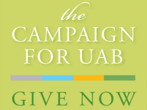 The Campaign for UAB appeals to online givers