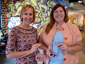 Two faculty honored for innovation in online education