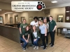 SOM communications team made furry friends at the humane society