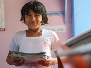 INTO UAB secures another $9,800 for girls' education in Sri Lanka