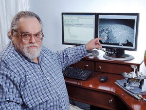 Ridge on Mars named for UAB scientist who helped explore the Red Planet
