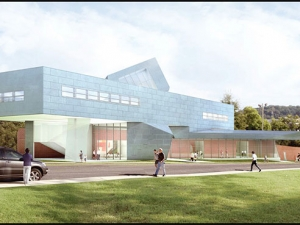 Excitement builds as Abroms-Engel Institute for Visual Arts nears completion