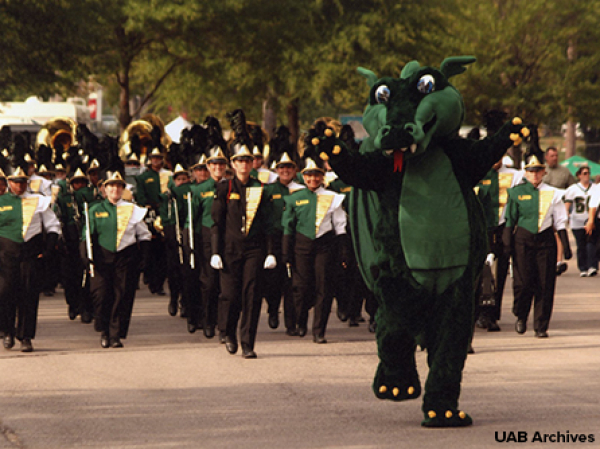 Catch the Blazer spirit in the annual homecoming parade