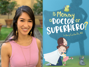 Children's book explores the roles of moms working in health care