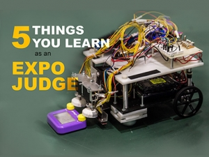 5 things you learn as an Expo judge