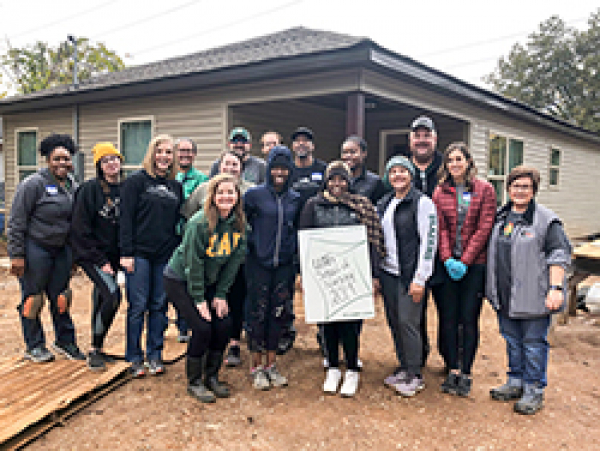 Habitat build has family home for the holidays