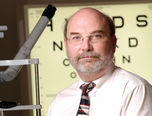 Optometry's Mark Swanson honored at symposium