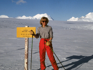 Amsler honored for Antarctic expeditions, explorer's spirit by international organization