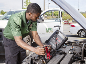 Dead battery? Flat tire? UAB can fix that — for free