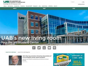 UAB launches new-look front door