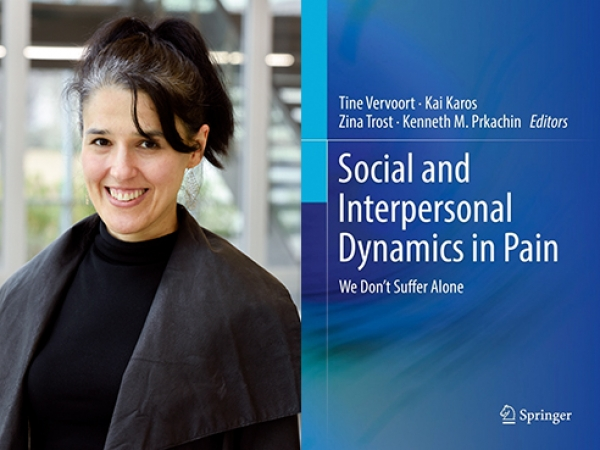 Trost's new book puts cutting-edge pain research 'in a social context'