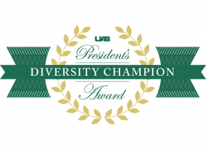 UAB names 2021 diversity champions