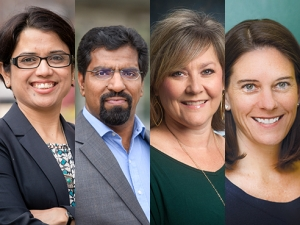 4 honored with Provost's Awards for Faculty Excellence