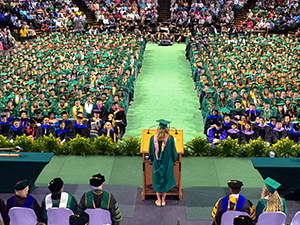 Doctoral hooding, commencement ceremonies are Aug. 9-10