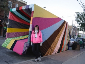 Fabric, sewers needed to help create large-scale art