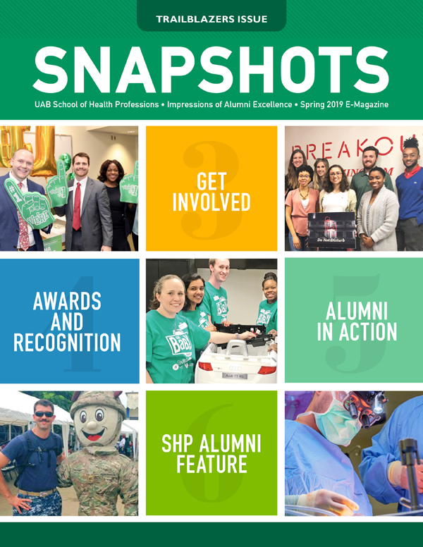 Cover Snapshots Spring 2019