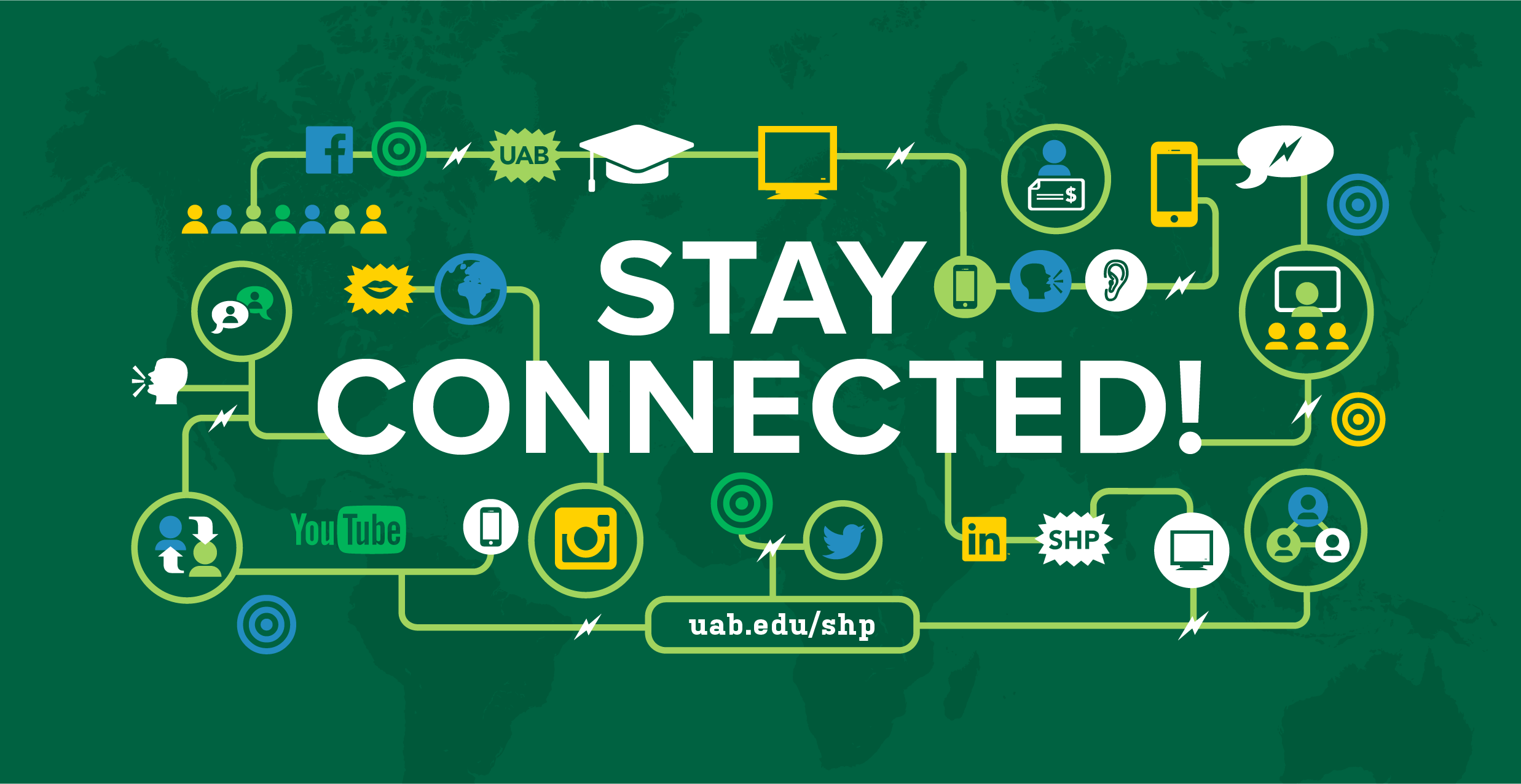Stay Connected Graphic