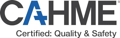 CAHME Logo Certified Quality Safety