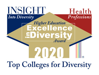 2020 Health Professions Higher Education Excellence in Diversity (HEED) Award logo