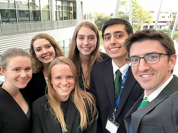 Ethics Bowl Debate team goes national