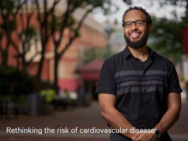 SOPH alum, Gabriel Tajeu, DrPh, MPH, rethinking the risk of cardiovascular disease
