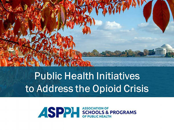 Major new report on public health initiatives to address the opioid crisis