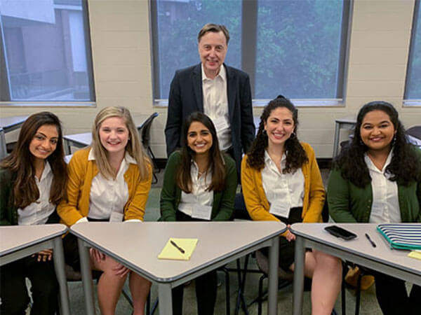 Public Health Students Help Bioethics Bowl Team to Win National Championship