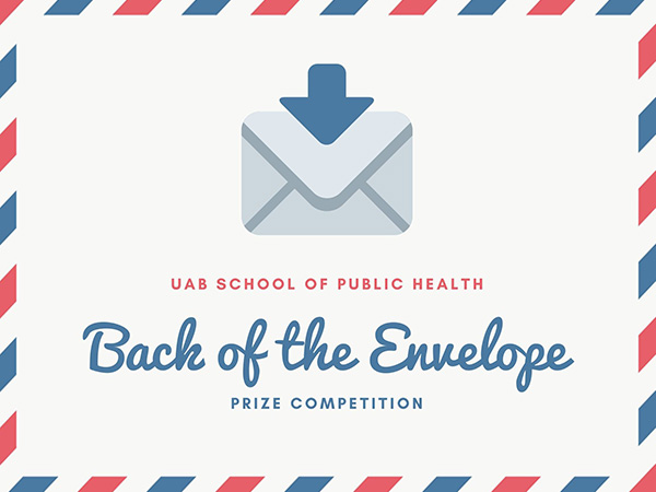 2020 Back of the Envelope Awardees Announced