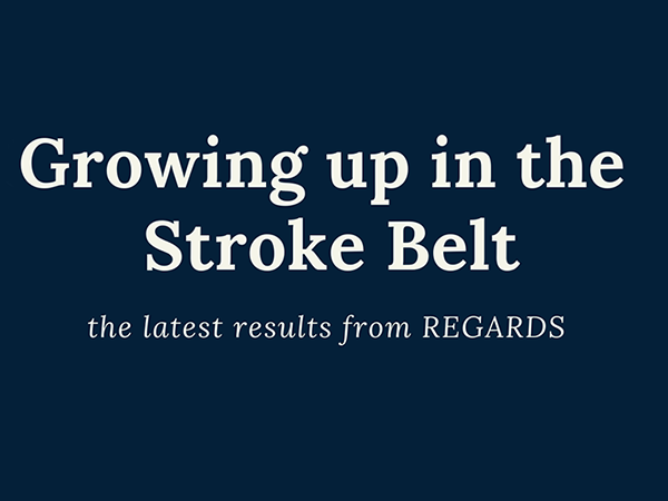 Growing up in the Stroke Belt