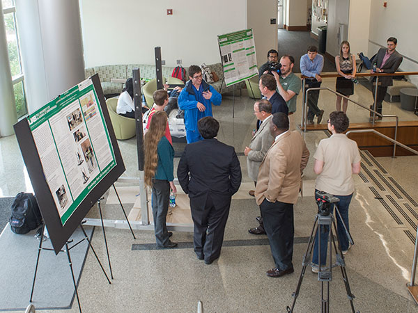 2021 Public Health virtual research poster session during National Public Health Week