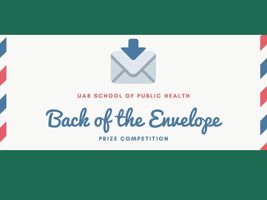 2021 Back of the Envelope awardees announced