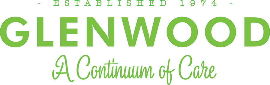 "Logo for Glenwood: ""A Continuum of Care"""