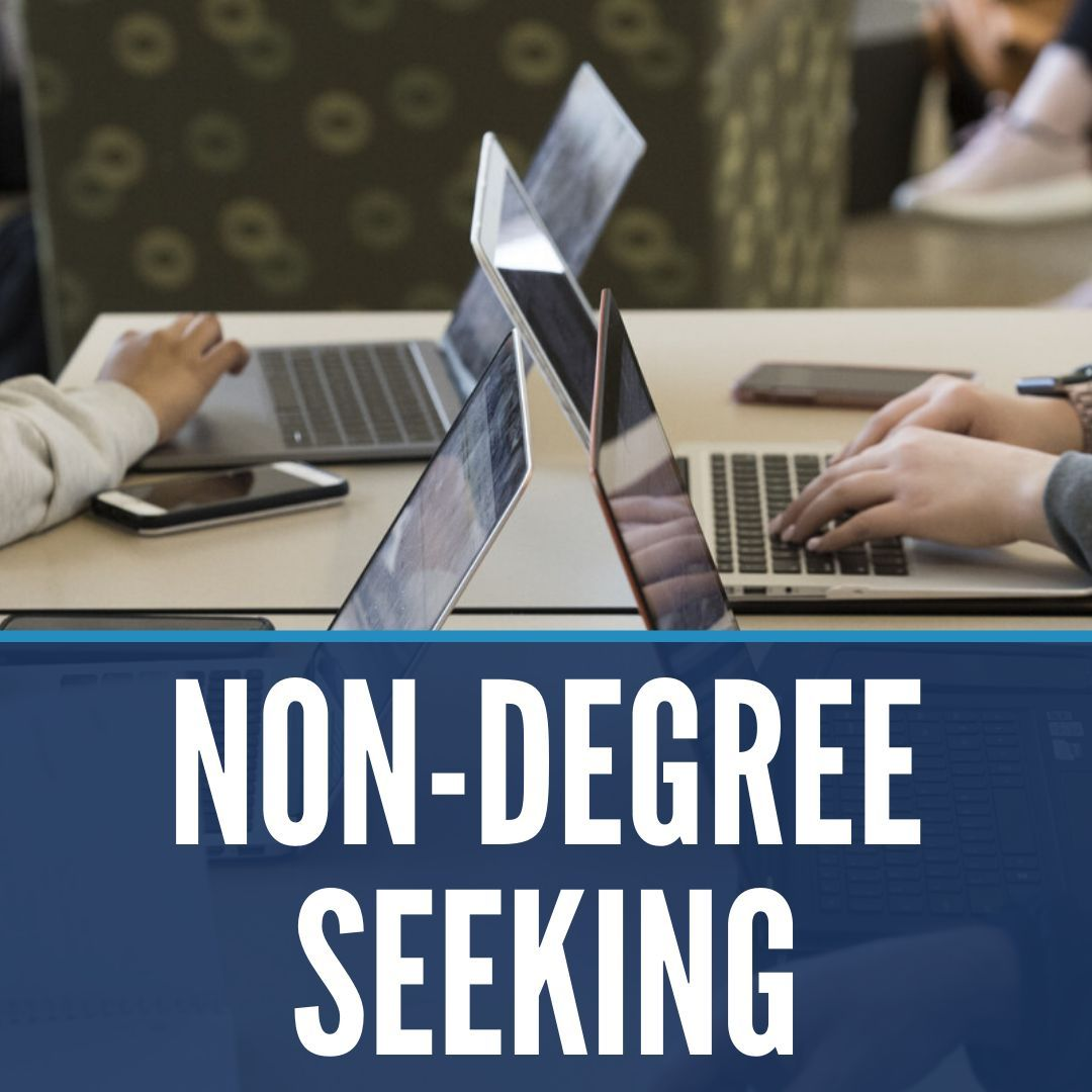 Non-degree seeking graduate students