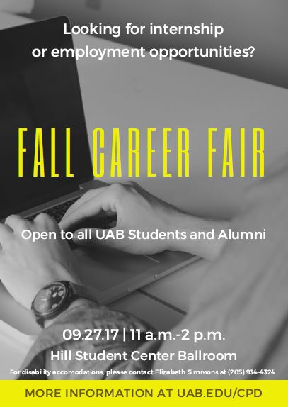 2017 Fall Career Fair