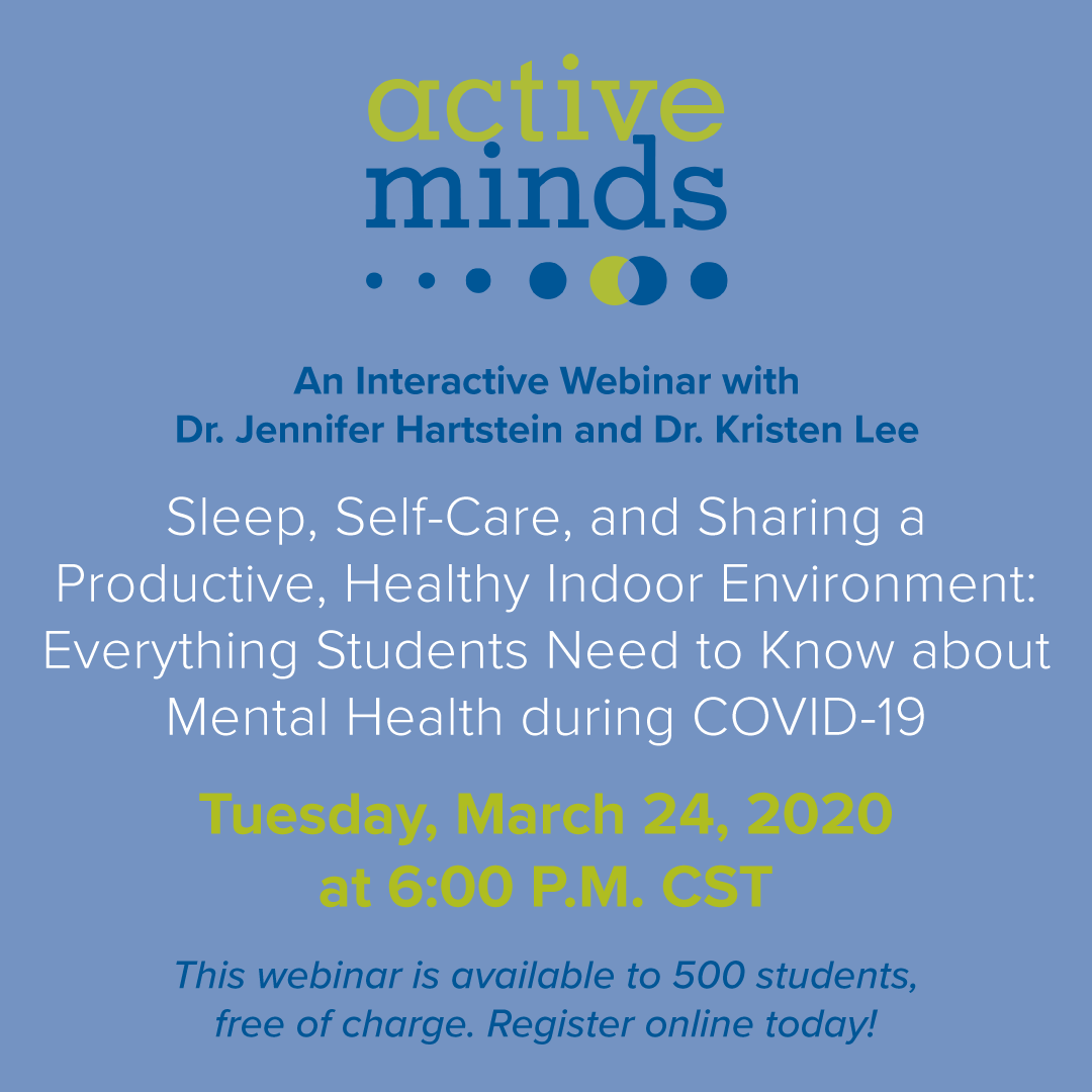 ActiveMinds CovidWebinar Tues